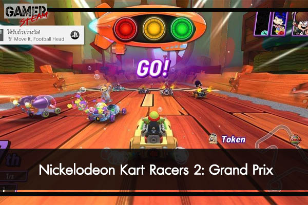 Nickelodeon Kart Racers 2- Grand Prix #เกมPC